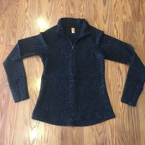 Lucy Gray Leopard Print Pullover, Sz S